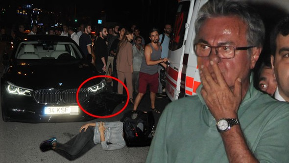 Hasan Kosif kaza yaptı