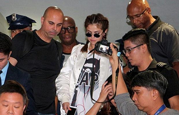 Selena Gomez'in zor anları!